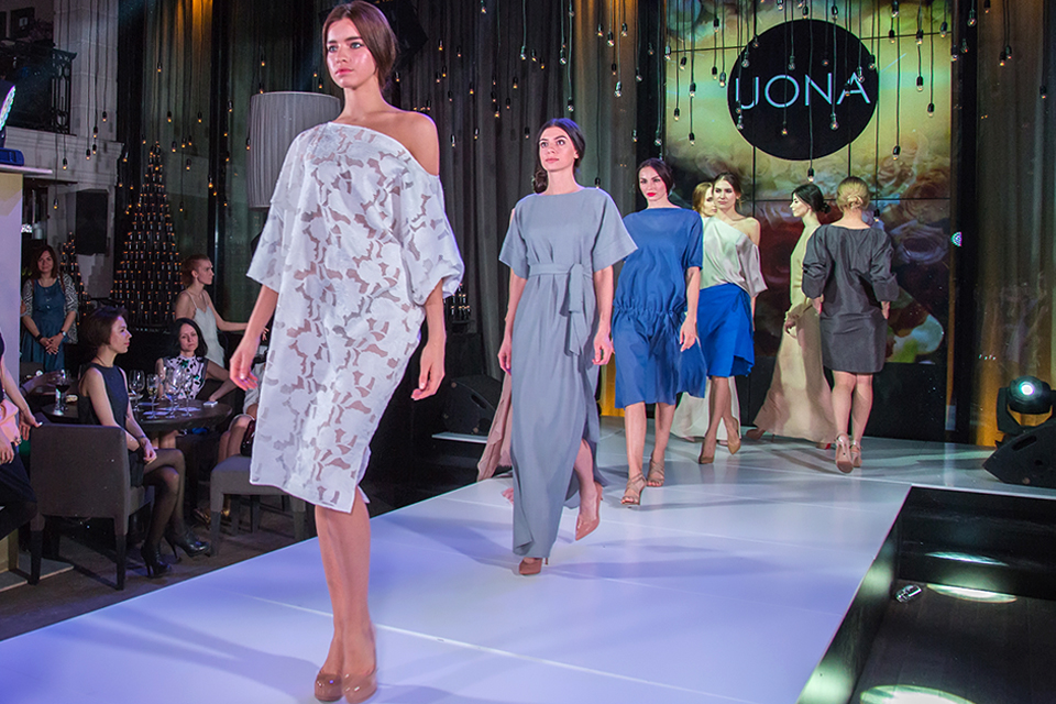 ПОКАЗ UONA ДЛЯ WORLD FASHION CHANNEL